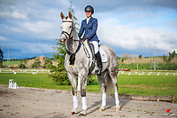 NZL-Bronwyn Cooper and HV Destino looking absolutely STUNNING. 2018 NZL-Elite Equine North Island Future Stars Dressage Championships 2018. Friday 20 April. Copyright Photo: Libby Law Photography