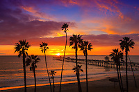 San Clemente Sunset at the Pier