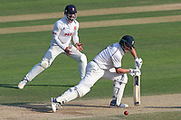 Jonathan Trott in batting action for Warwickshire during Essex CCC vs Warwickshire CCC, Specsavers County Championship Division 1 Cricket at The Cloudfm County Ground on 20th June 2017