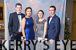 Jordan Bowler, Courtney Ryan, Aoife Brosnan, Cathal Lehane at the Mercy Mounthawk Students' Debs Ball in the Ballyroe Heights Hotel on Saturday night.