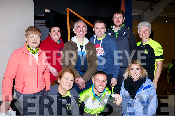 The organising committee of the Badminton finals in Ballyheigue on Sunday last, kneeling l-r, Siobhan Colbert, Francis Flaherty and Edel Broderick.<br /> Back l-r, Mary Jane Reidy, Paula O&rsquo;Sullivan, Maurice Lawler, Cathal O&rsquo;Regan, Kevin O&rsquo;Mahoney and Lilian Holmes.