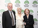 Ciaran O'Reilly, Angela Lansbury and Charlotte Moore attend the 'Sondheim at Seven' 2017 Gala Benefit Production at Town Hall on June 13, 2017 in New York City.