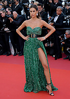 "CANNES, FRANCE. May 15, 2019: Melissa Satta at the gala premiere for ""Les Miserables"" at the Festival de Cannes.<br /> Picture: Paul Smith / Featureflash"