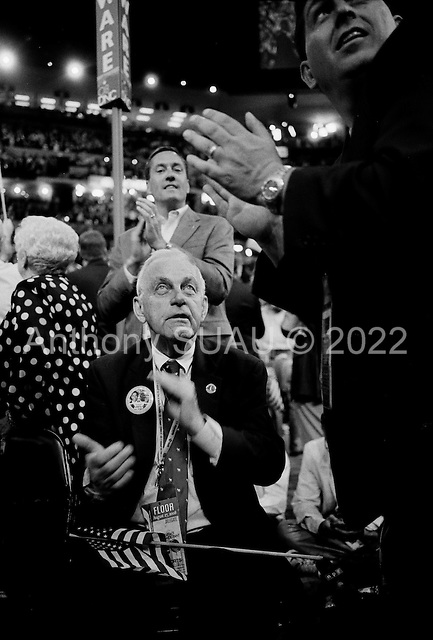 Denver, Colorado.August 27, 2008..Delegates at the Pepsi Center  - Democratic National Convention.