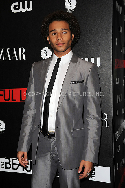 WWW.ACEPIXS.COM . . . . . ....September 12 2009, New York City....Actor Corbin Bleu at the CW Network party for the new series 'The Beautiful Life: TBL' at the Simyone Lounge on September 12, 2009 in New York City.....Please byline: KRISTIN CALLAHAN - ACEPIXS.COM.. . . . . . ..Ace Pictures, Inc:  ..tel: (212) 243 8787 or (646) 769 0430..e-mail: info@acepixs.com..web: http://www.acepixs.com