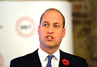 07/11/2019 - Prince William Duke of Cambridge during the launch of the National Emergencies Trust at St Martin-in-the-Fields in Trafalgar Square, London. The National Emergencies Trust is an independent charity which will provide an emergency response to disasters in the UK. Photo Credit: ALPR/AdMedia