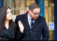 BNPS.co.uk (01202 558833)<br /> Pic:  RogerAborn/BNPS<br /> <br /> Mark Redknapp arriving at Poole Magistrates court with his daughter Molly today to stand trial for drug driving.