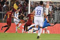 tiro di Antonio Candreva Inter.<br /> Roma 26-08-2017 Stadio Olimpico Calcio Serie A AS Roma - Inter Foto Antonietta Baldassarre / Insidefoto