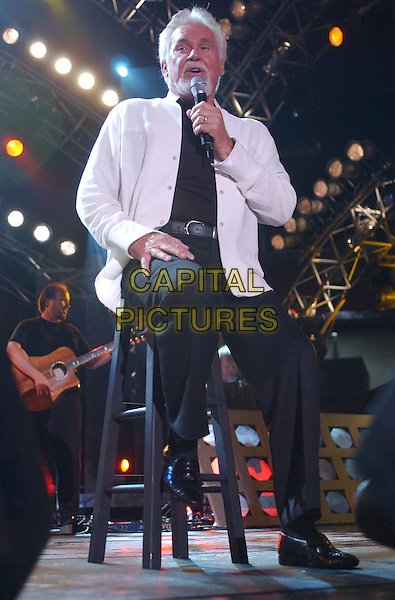 KENNY ROGERS.Performs Live in Concert at the 2005 CMA Music Festival held at The Coliseum, Nashville, Tennessee, .USA, 11 June 2005..full length concert gig.Ref: ADM.www.capitalpictures.com.sales@capitalpictures.com.©AdMedia/Capital Pictures.