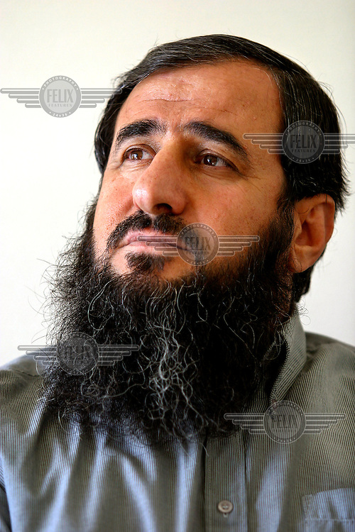 Mullah Krekar, founder of the radical Islamic group Ansar al-Islam. Based in Iraqi Kurdistan, the group is believed to have ties to al Qaeda. Krekar has lived in Norway as a refugee for several years, but has been threatened with expulsion.Full name : Najmuddin Faraj Ahmad.