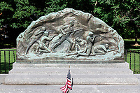 Minute Men memorial, Lexington, MA, Massachusetts, USA