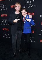 09 April 2018 - Hollywood, California - Billy Mumy, Maxwell Jenkins. NETFLIX's &quot;Lost in Space&quot; Season 1 Premiere Event held at Arclight Hollywood Cinerama Dome. <br /> CAP/ADM/BT<br /> &copy;BT/ADM/Capital Pictures