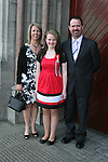 Melissa Tiernan with Helen and Gary at the Confirmation in St.Mary's Church...Photo NEWSFILE/Jenny Matthews.(Photo credit should read Jenny Matthews/NEWSFILE)....This Picture has been sent you under the condtions enclosed by:.Newsfile Ltd..The Studio,.Millmount Abbey,.Drogheda,.Co Meath..Ireland..Tel: +353(0)41-9871240.Fax: +353(0)41-9871260.GSM: +353(0)86-2500958.email: pictures@newsfile.ie.www.newsfile.ie.FTP: 193.120.102.198.