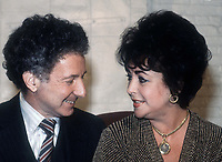 Alan Fleischman Elizabeth Taylor 1981<br /> Photo By Adam Scull/PHOTOlink.net