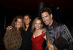 "One Life To Live Matt Walton ""Elijah Clarke"" and wife Alecia Hurst and Amy Hargreaves (red) Homeland at The Canal Room as it celebrates its 10th Anniversary on September 16, 2013 at ""Back to the 80s Show with Jessie's Girl"" in New York City, New York. (Photo by Sue Coflin/Max Photos)"