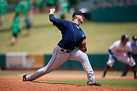 Mobile BayBears relief pitcher Zac Ryan (30) during a Southern League game against the Montgomery Biscuits on May 2, 2019 at Riverwalk Stadium in Montgomery, Alabama.  Mobile defeated Montgomery 3-1.  (Mike Janes/Four Seam Images)