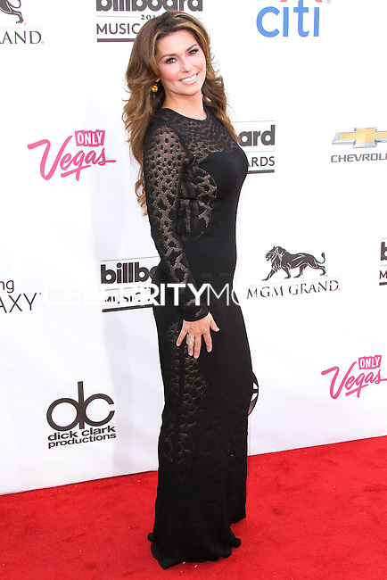 LAS VEGAS, NV, USA - MAY 18: Shania Twain at the Billboard Music Awards 2014 held at the MGM Grand Garden Arena on May 18, 2014 in Las Vegas, Nevada, United States. (Photo by Xavier Collin/Celebrity Monitor)