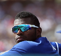 Yasiel Puig - Los Angeles Dodgers 2016 spring training (Bill Mitchell)
