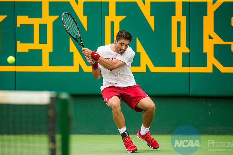 19 MAY 2015:  The Division I Men's Tennis Championship is held at the Hurd Tennis Center on the Baylor University campus in Waco, TX.  Virginia defeated Oklahoma 4-1 to win the team national title.  Darren Carroll/NCAA Photos