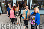 Staff of the Adapt Charity Shop launch their upcoming fashion show at the shop on Thursday.<br /> Front: Ljilji Samarvzic and Helena Slattery.<br /> Back l-r, Martelr Horvathova, Helen Corrigan, Teresa Perez, Carina Beirne and Louise O&rsquo;Connell.