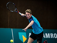 Alphen aan den Rijn, The Netherlands, 25 Januari 2019, ABNAMRO World Tennis Tournament, Supermatch, Jesper de Jong (NED)<br /> <br /> Photo: www.tennisimages.com/Henk Koster