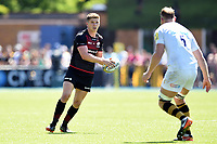 Owen Farrell of Saracens in possession. Aviva Premiership Semi Final, between Saracens and Wasps on May 19, 2018 at Allianz Park in London, England. Photo by: Patrick Khachfe / JMP