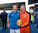 24.3.2018: Rangers legends match:<br /> Ally McCoist and Gavin Wright