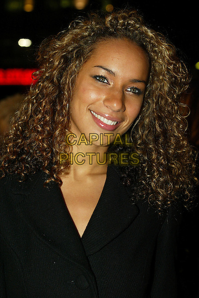 "LEONA LEWIS - THE X FACTOR.The premiere of ""Flushed Away"" at the Empire, Leicester Square, London, UK..November 23rd, 2006.headshot portrait .CAP/DAR.©Darwin/Capital Pictures"