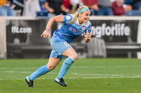 Bridgeview, IL - Sunday September 03, 2017: Julie Ertz during a regular season National Women's Soccer League (NWSL) match between the Chicago Red Stars and the North Carolina Courage at Toyota Park. The Red Stars won 2-1.