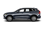 Car Driver side profile view of a 2020 Volvo XC60 Inscription 5 Door SUV Side View