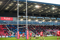 Picture by Allan McKenzie/SWpix.com - 26/04/2018 - Rugby League - Betfred Super League - Salford Red Devils v St Helens - AJ Bell Stadium, Salford, England - A general view of Salford playing St Helens.