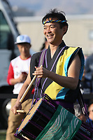SAN JOSE, CA - JULY 06: Drummers during a Major League Soccer (MLS) match between the San Jose Earthquakes and Real Salt Lake on July 06, 2019 at Avaya Stadium in San Jose, California.