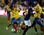 estadio de red bull new jersy usa Colombia vs Ecuador colombia gano  1x0 gol de Radamel Falcao<br /> <br /> foto Marco Perez