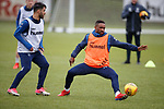 05.02.2019: Rangers training: Daniel Candeias and Jermain Defoe