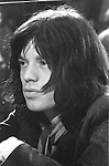 "Rolling Stones 1968 Mick Jagger at ""Rock and Roll Circus""..© Chris Walter.."