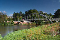 The Kirkpatrick MacMillan Bridge and the River Nith, Dumfries, Galloway<br /> <br /> Copyright www.scottishhorizons.co.uk/Keith Fergus 2011 All Rights Reserved