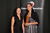 Sports Woman of the Year on behalf of Valerie Adams from the Pakuranga Athletics Club. Counties Manukau Sport Sporting Excellence Awards held at the Telstra Clear Pacific Events Centre Manukau on December 1st 2011.