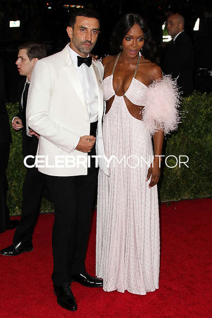 """NEW YORK CITY, NY, USA - MAY 05: Riccardo Tisci, Naomi Campbell at the """"Charles James: Beyond Fashion"""" Costume Institute Gala held at the Metropolitan Museum of Art on May 5, 2014 in New York City, New York, United States. (Photo by Xavier Collin/Celebrity Monitor)"""