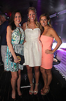 Catherine Grealis, Katherine Muhfeld and Lauren Tarola attend The Friends of Finn by the Shore party at Finale East on Aug. 2, 2014 (Photo by Taylor Donohue/Guest of a Guest)