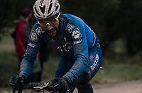 Fernando Gaviria (COL/Quick Step Floors)<br /> <br /> 12th Strade Bianche 2018<br /> Siena &gt; Siena: 184km (ITALY)