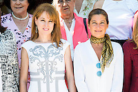Gloria Lomana and Sara Baras during the 25th edition of FEDEPE Awards at Jardines de Cecilio Rodriguez in Madrid, Spain. July 26, 2016. (ALTERPHOTOS/BorjaB.Hojas)