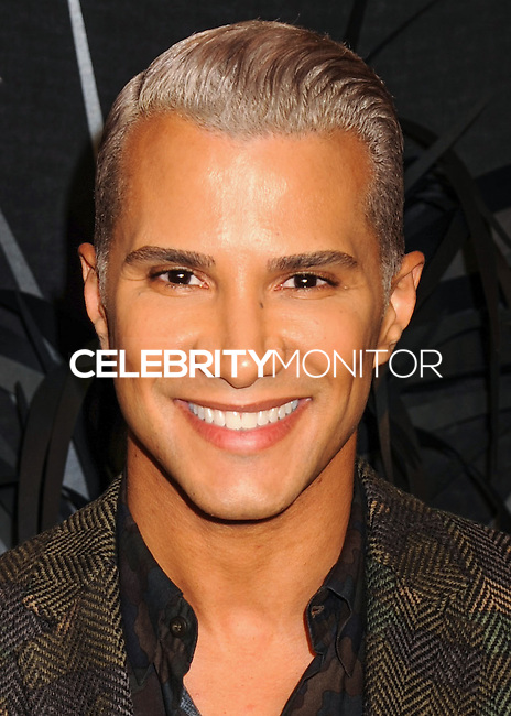 NEW YORK CITY, NY, USA - NOVEMBER 20: Jay Manuel arrives at the Hugo Boss Prize 2014 held at the Guggenheim Museum on November 20, 2014 in New York City, New York, United States. (Photo by Celebrity Monitor)