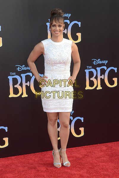 21 June 2016 - Hollywood. Tammy Townsend. Arrivals for the Premiere Of Disney's &quot;The BFG&quot; held at El Capitan Theater. <br /> CAP/ADM/BT<br /> &copy;BT/ADM/Capital Pictures