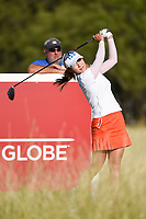 Hee Young Park (KOR) watches her tee shot on 10 during round 4 of the Volunteers of America Texas Classic, the Old American Golf Club, The Colony, Texas, USA. 10/6/2019.<br /> Picture: Golffile | Ken Murray<br /> <br /> <br /> All photo usage must carry mandatory copyright credit (© Golffile | Ken Murray)