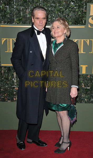 Jeremy Irons &amp; Sinead Cusack attend the London Evening Standard Theatre Awards 2015, The Old Vic, The Cut, London, England, UK, on Sunday 22 November 2015.<br /> CAP/CAN<br /> &copy;CAN/Capital Pictures