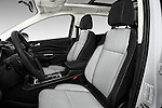Front seat view of 2017 Ford Escape SE 5 Door SUV Front Seat  car photos