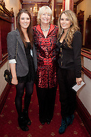 "NO REPRO FEE. 17/1/2010. The Field opening night. Lis Bennett Pat Moylan and Ellen Bennett are pictured at the Olympia Theatre for the opening night of John B Keanes 'The Field"" Picture James Horan/Collins"