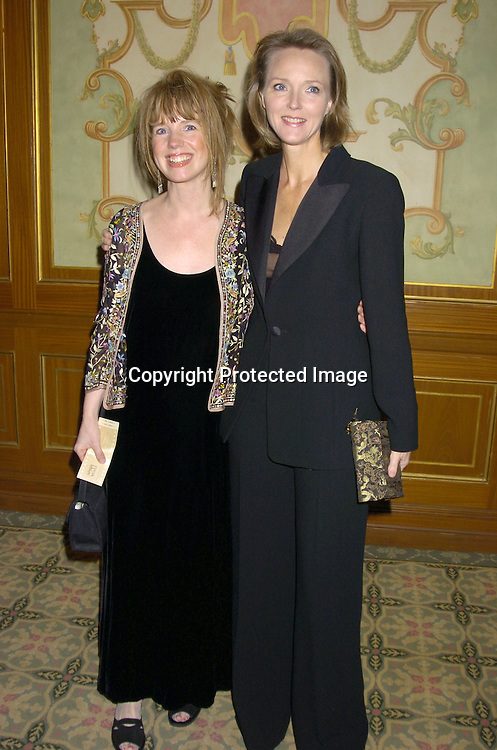 Lorie Hurst and Ellen Wheeler ..at The 57th Annual  Writers Guild Awards on February 19, 2005 at The Pierre Hotel in New York City. Claire Labine got ..an award and  Guiding Light won for Best Soap Opera. ..Photo by Robin Platzer, Twin Images.