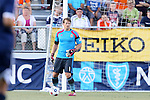 14 June 2014: Chivas USA's Dan Kennedy. The Carolina RailHawks of the North American Soccer League played Chivas USA of Major League Soccer at WakeMed Stadium in Cary, North Carolina in the fourth round of the 2014 Lamar Hunt U.S. Open Cup soccer tournament. The RailHawks advanced by winning a penalty kick shootout 3-2 after the game had ended in a 1-1 tie after overtime.