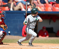 March 23, 2010:  Outfielder Sam Bean (6) of the Dartmouth Big Green during a game at the Chain of Lakes Stadium in Winter Haven, FL.  Photo By Mike Janes/Four Seam Images